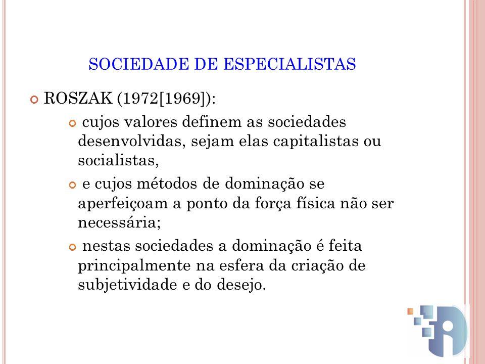 SOCIEDADE DE ESPECIALISTAS