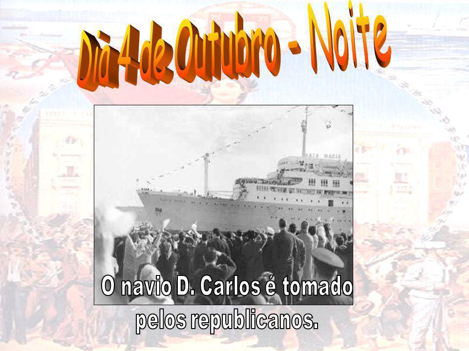 O navio D. Carlos é tomado