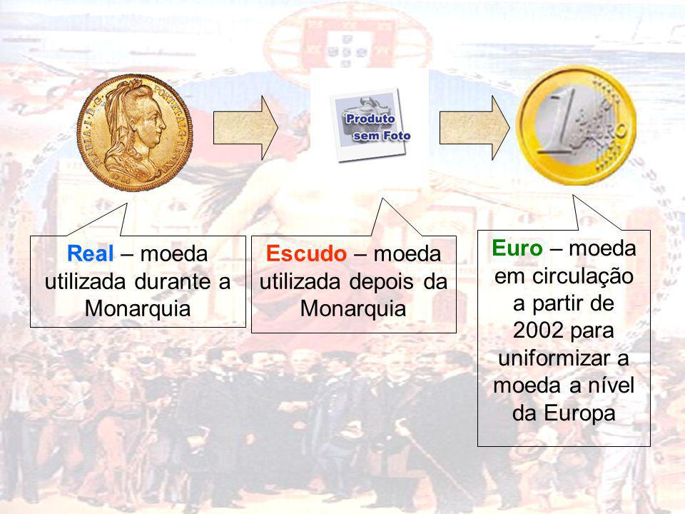 Real – moeda utilizada durante a Monarquia