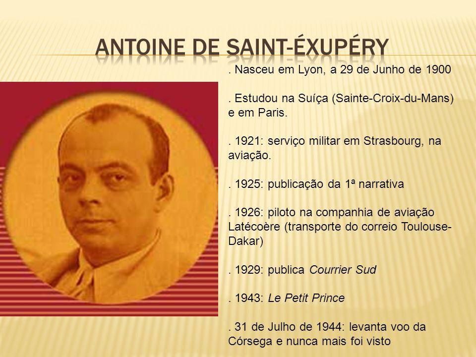 Antoine de saint-éxupéry