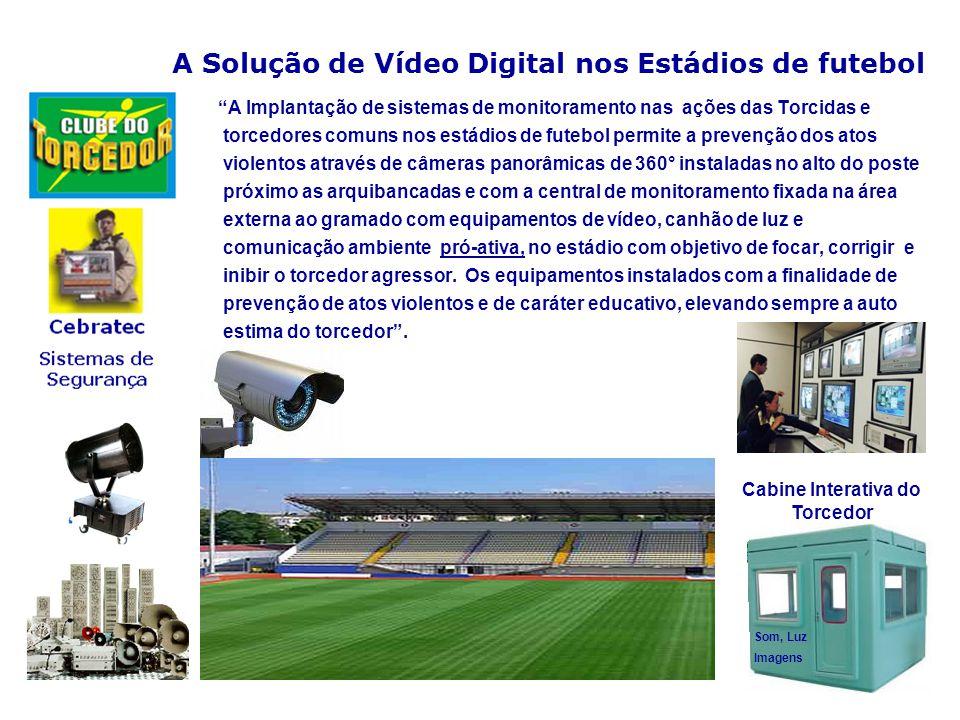 A Solução de Vídeo Digital nos Estádios de futebol