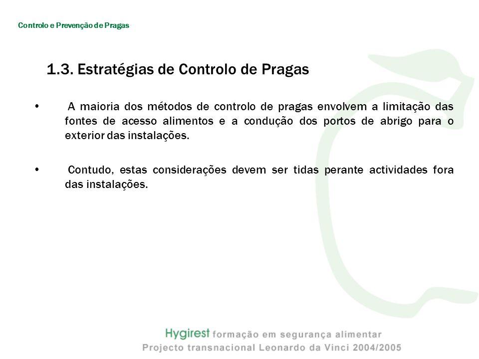 1.3. Estratégias de Controlo de Pragas