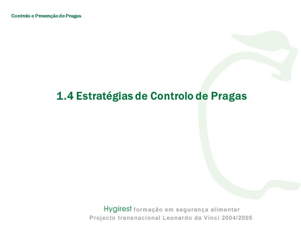 1.4 Estratégias de Controlo de Pragas