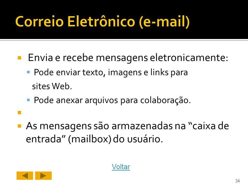 Correio Eletrônico (e-mail)