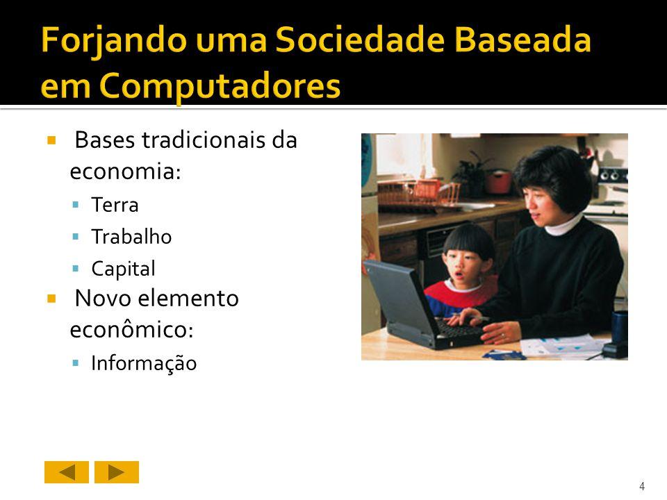 Forjando uma Sociedade Baseada em Computadores