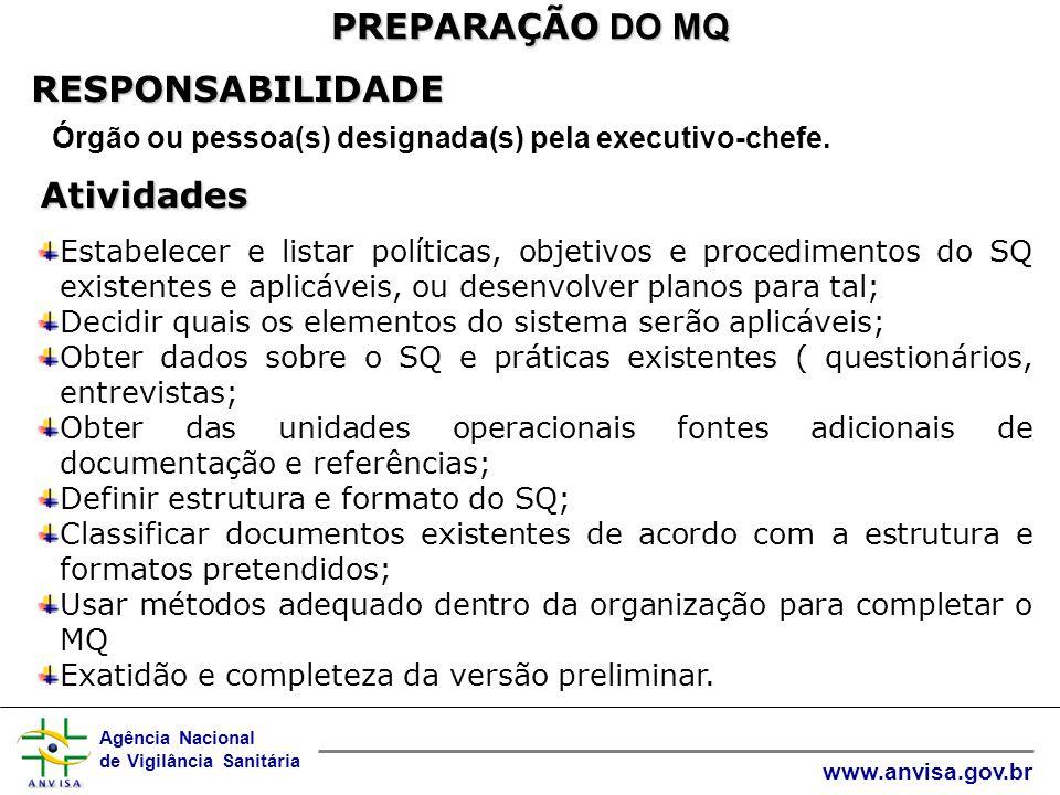 Órgão ou pessoa(s) designada(s) pela executivo-chefe.