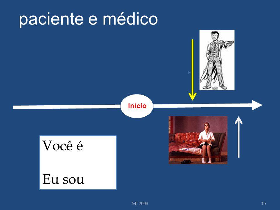 paciente e médico Início Você é Eu sou MJ 2008