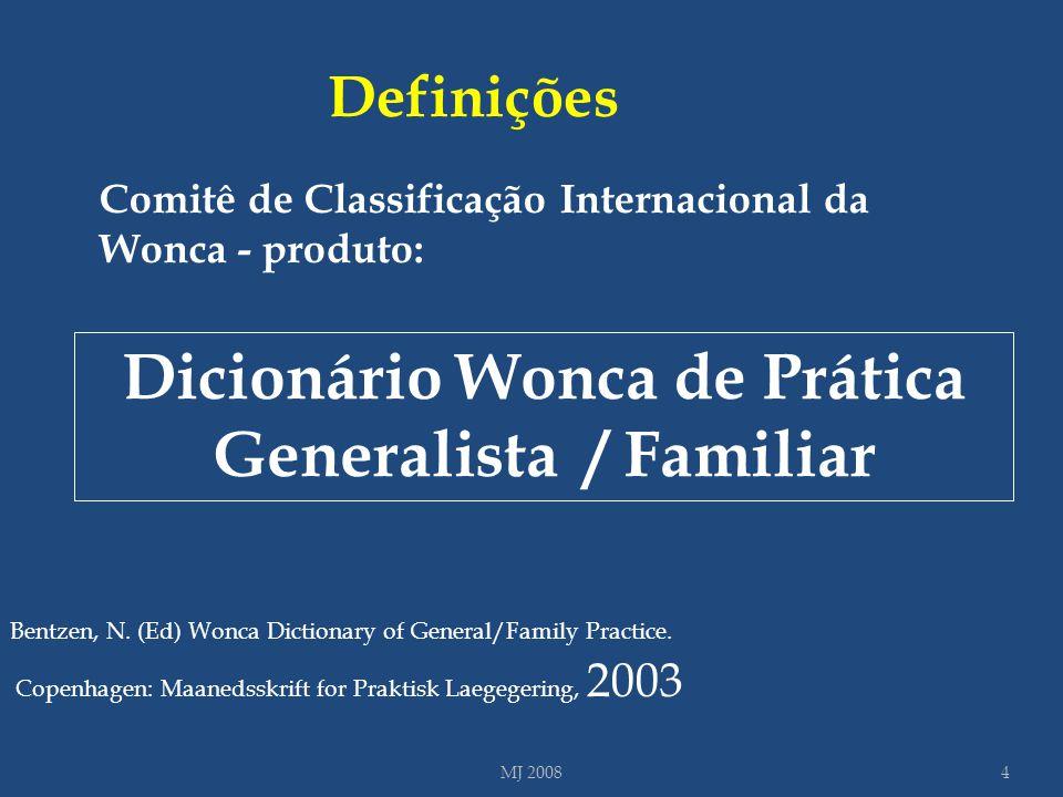 Dicionário Wonca de Prática Generalista / Familiar