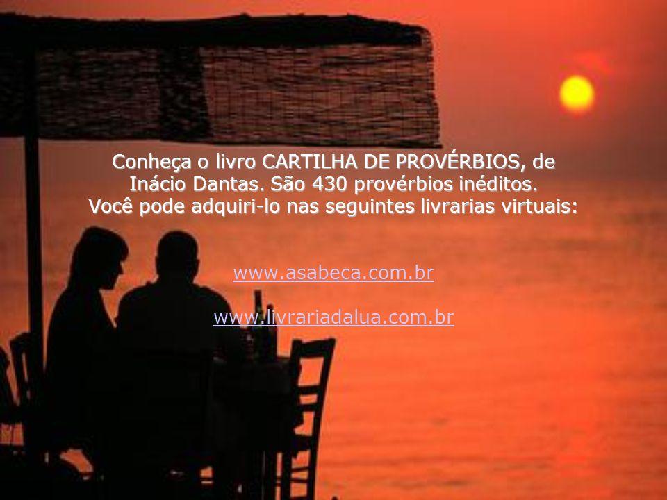 Conheça o livro CARTILHA DE PROVÉRBIOS, de Inácio Dantas