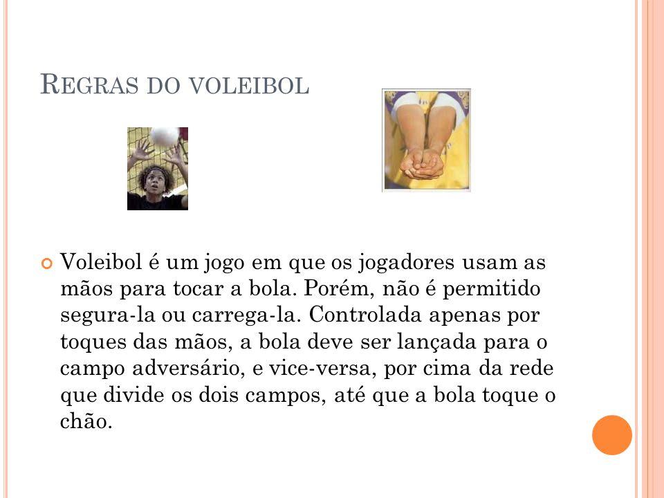 Regras do voleibol