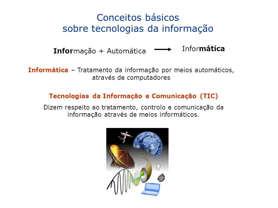 Tecnologias da Informação e Comunicação (TIC)
