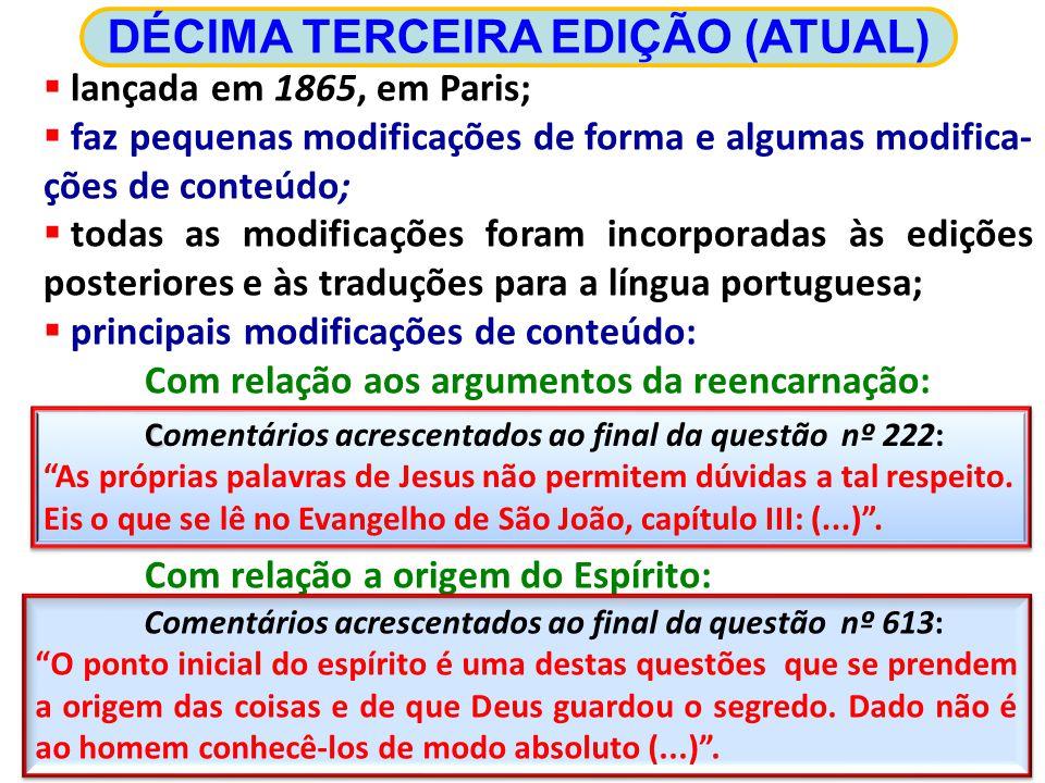 DÉCIMA TERCEIRA EDIÇÃO (ATUAL)
