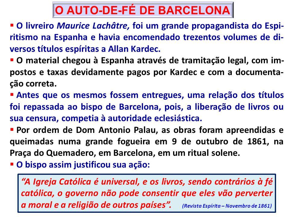 O AUTO-DE-FÉ DE BARCELONA
