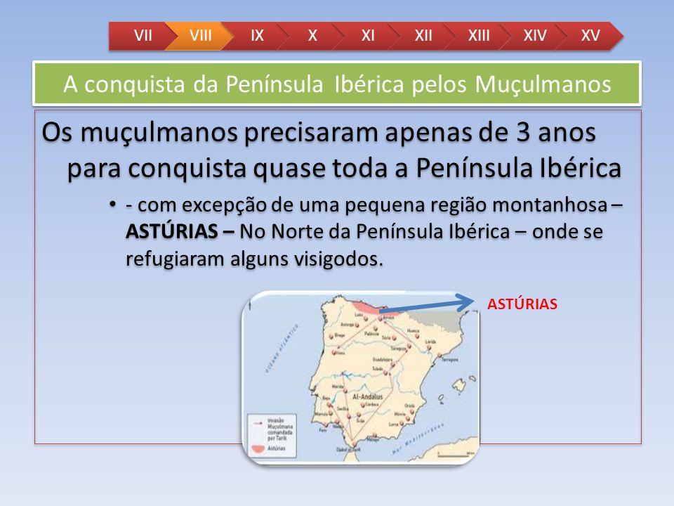 A conquista da Península Ibérica pelos Muçulmanos