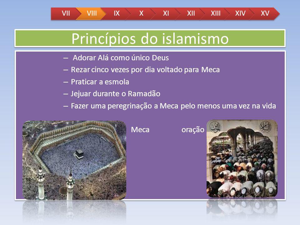 Princípios do islamismo