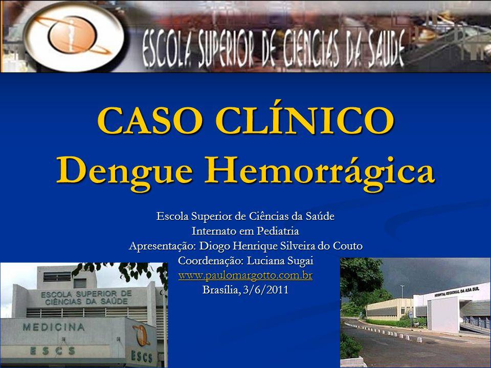 CASO CLÍNICO Dengue Hemorrágica
