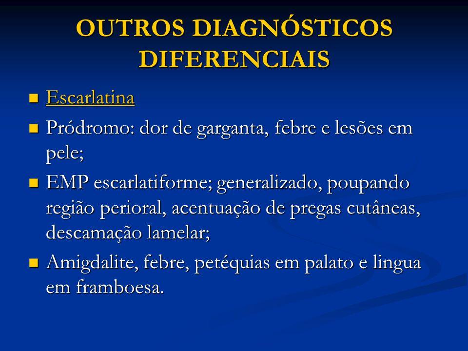 OUTROS DIAGNÓSTICOS DIFERENCIAIS