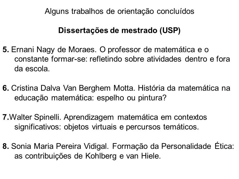 Dissertações de mestrado (USP)