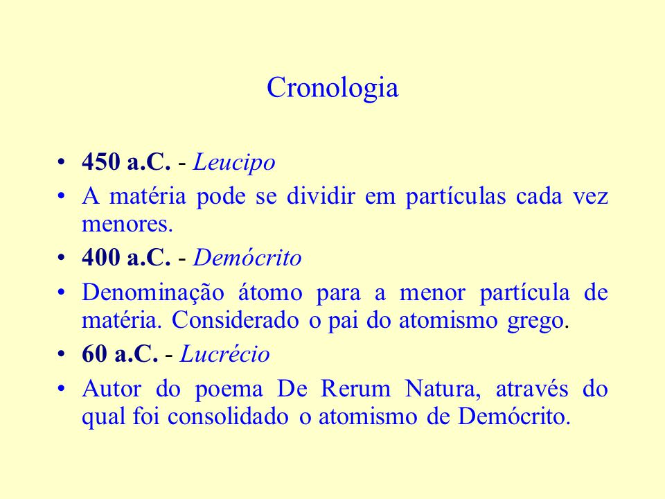 Cronologia 450 a.C. - Leucipo