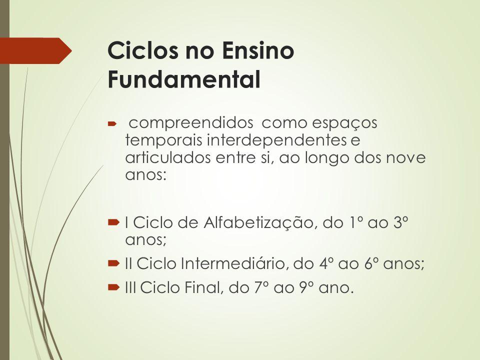 Ciclos no Ensino Fundamental