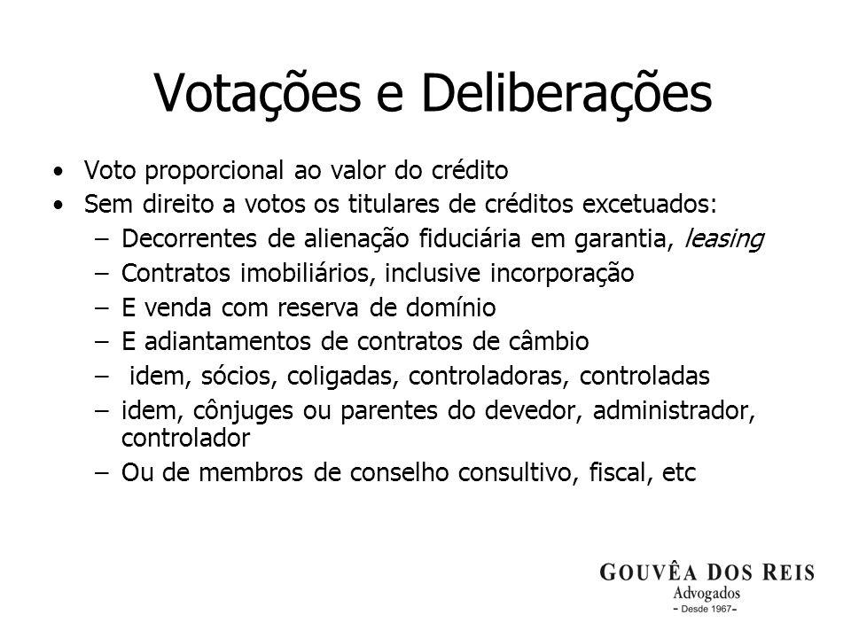 Votações e Deliberações