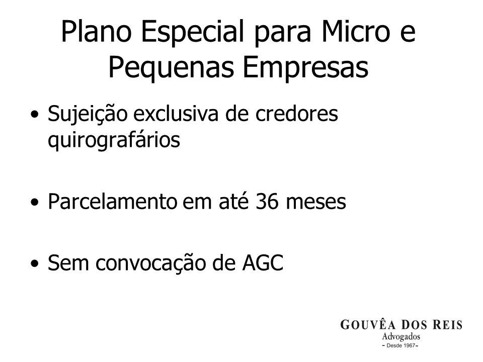 Plano Especial para Micro e Pequenas Empresas