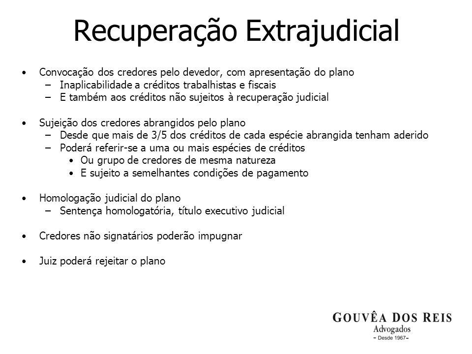 Recuperação Extrajudicial
