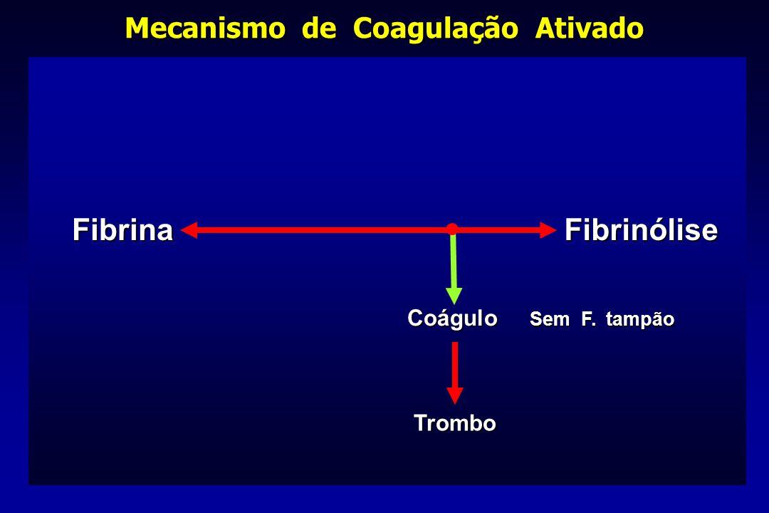 Mecanismo de Coagulação Ativado
