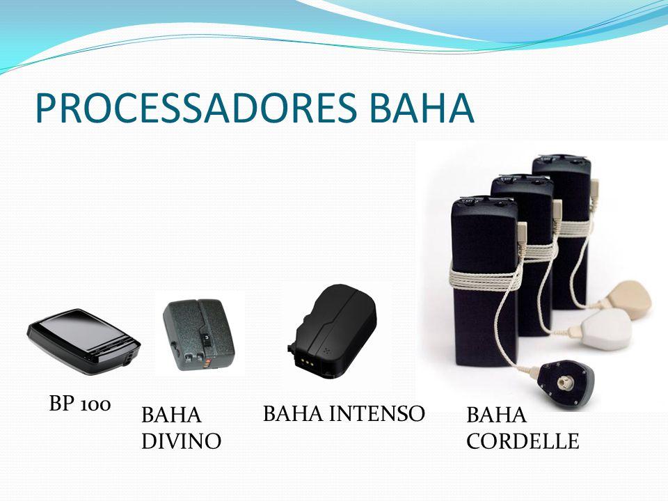 PROCESSADORES BAHA BP 100 BAHA DIVINO BAHA INTENSO BAHA CORDELLE