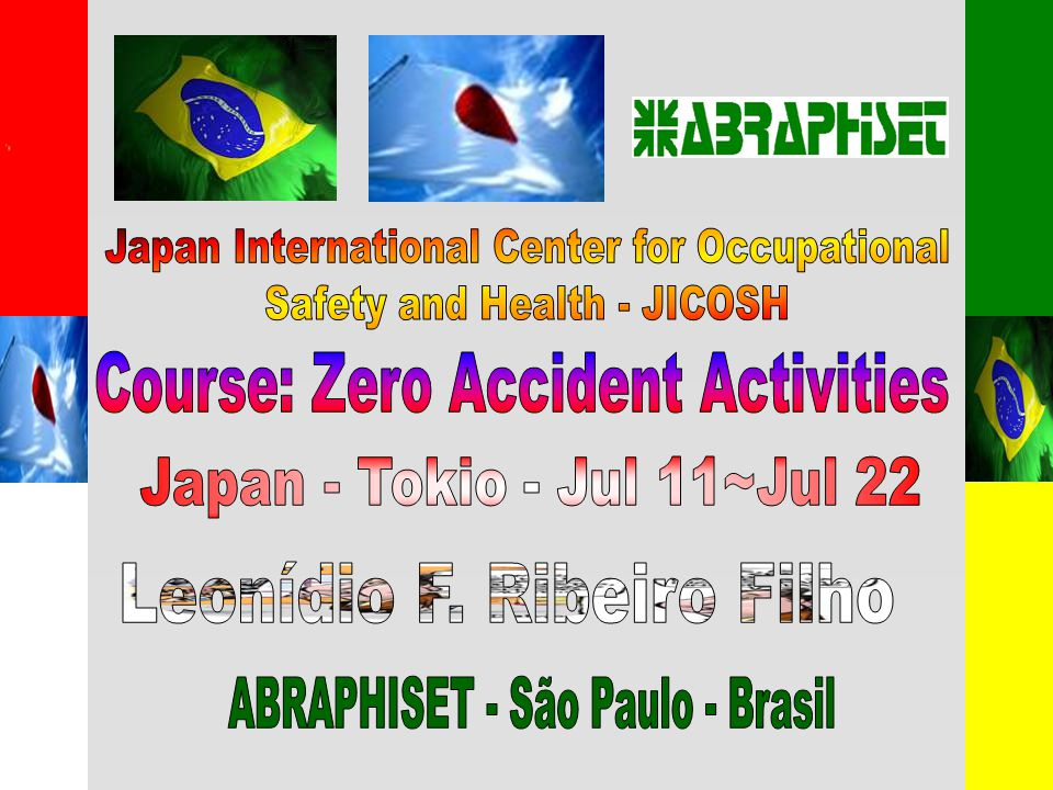 Japan International Center for Occupational Safety and Health - JICOSH