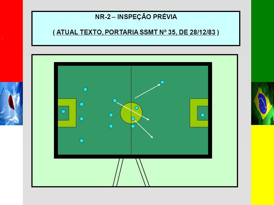 ( ATUAL TEXTO, PORTARIA SSMT Nº 35, DE 28/12/83 )