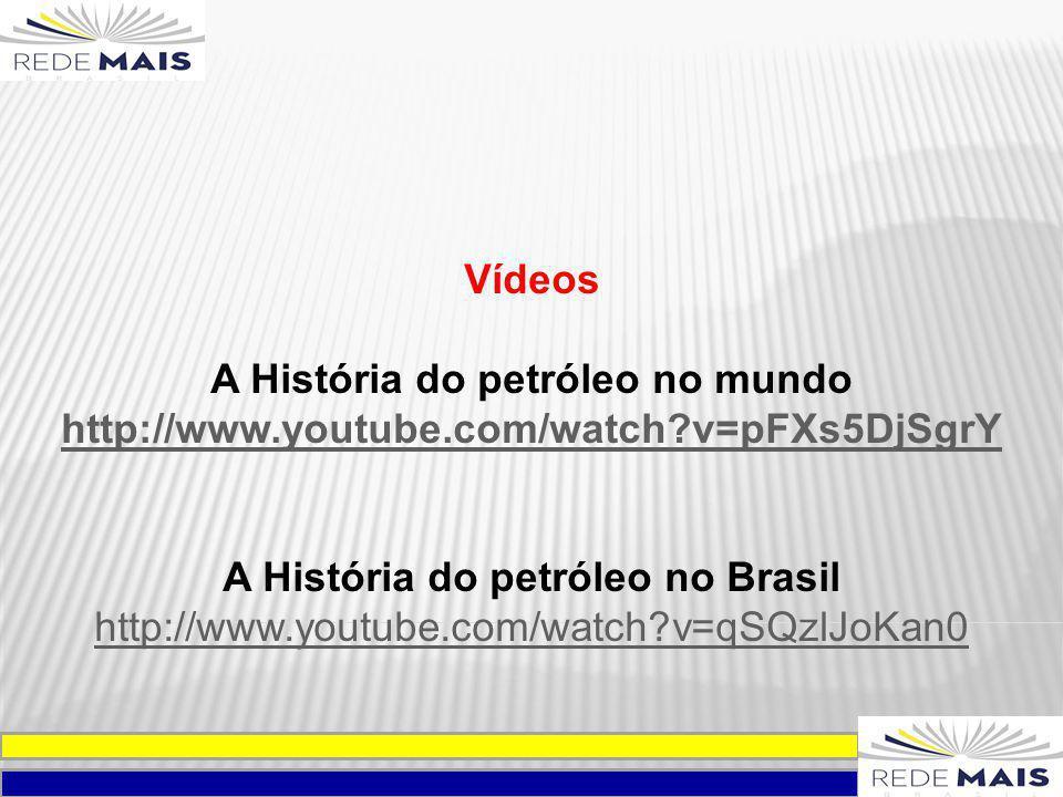 A História do petróleo no mundo A História do petróleo no Brasil