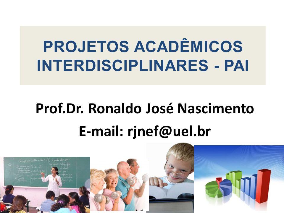 Prof.Dr. Ronaldo José Nascimento E-mail: rjnef@uel.br