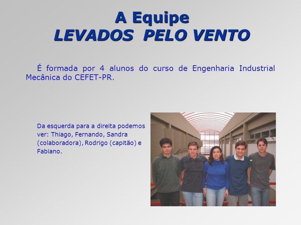 A Equipe LEVADOS PELO VENTO