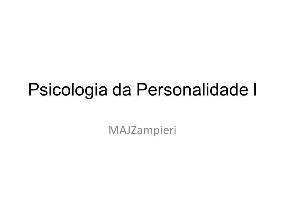 Psicologia da Personalidade I