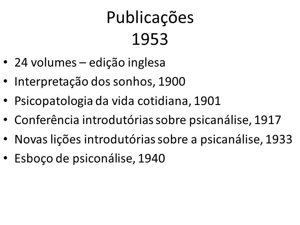 Publicações 1953 24 volumes – edição inglesa