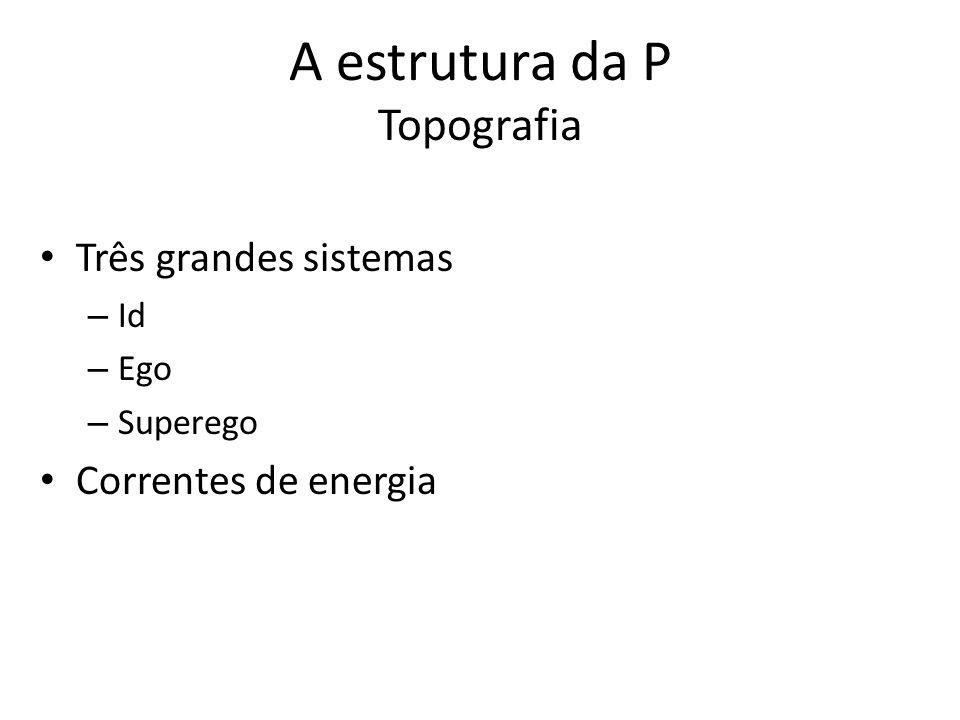 A estrutura da P Topografia