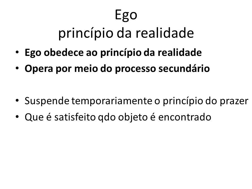 Ego princípio da realidade