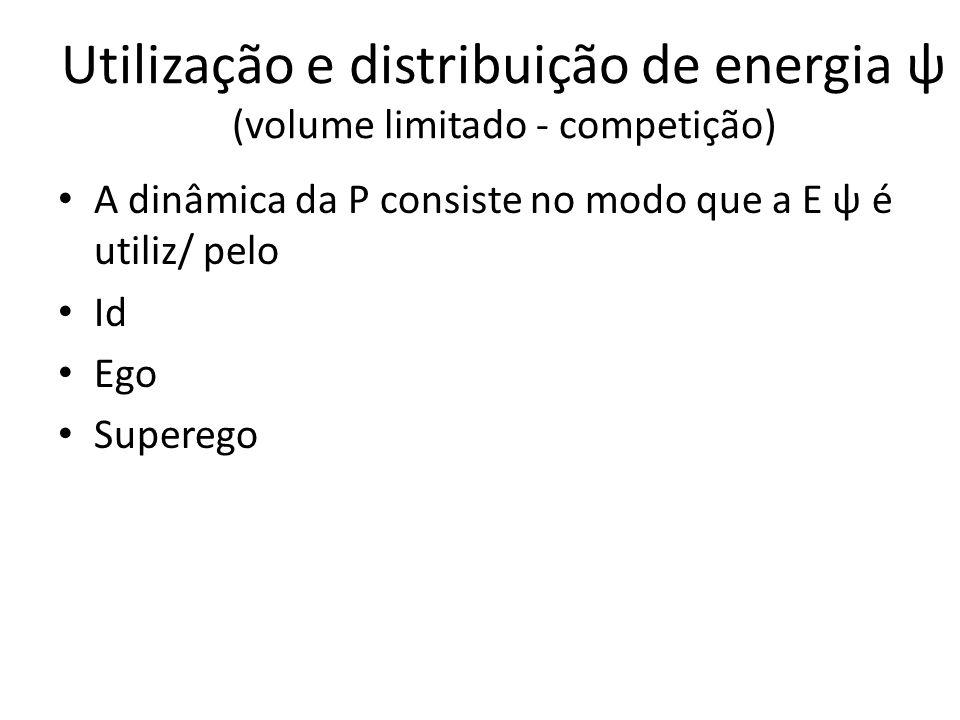 Utilização e distribuição de energia ψ (volume limitado - competição)