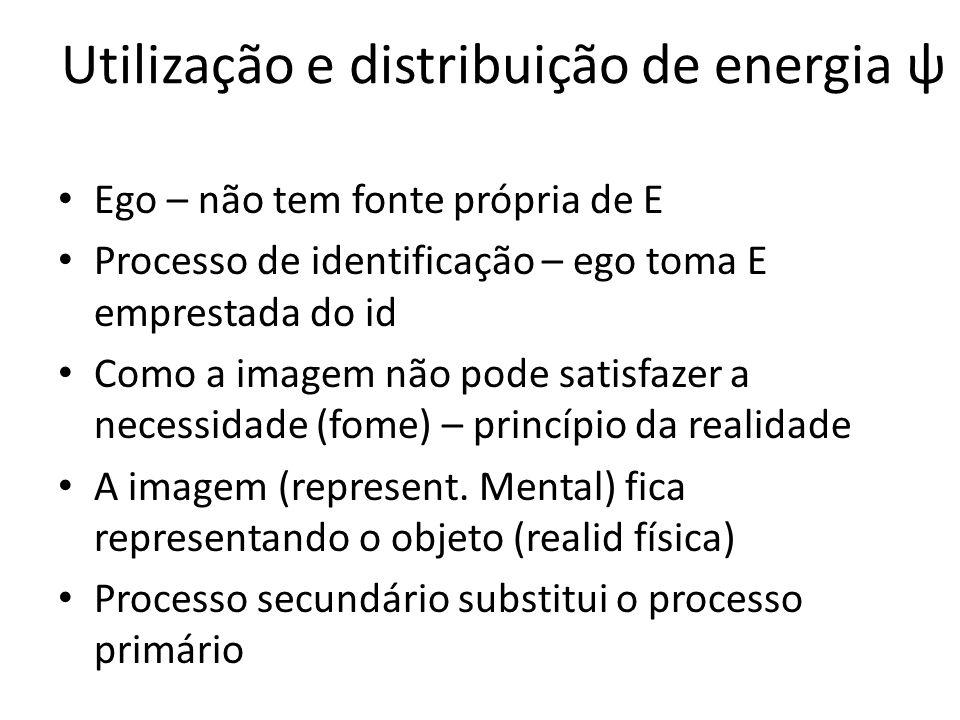 Utilização e distribuição de energia ψ