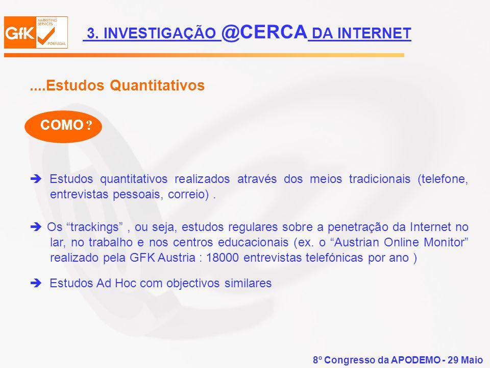 3. INVESTIGAÇÃO @CERCA DA INTERNET