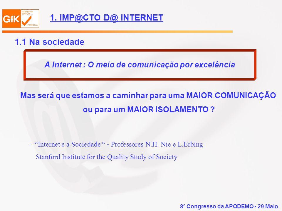 A Internet : O meio de comunicação por excelência