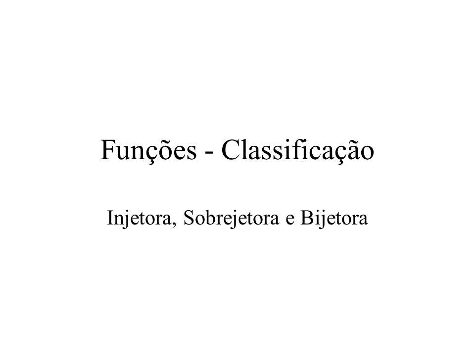 Funções - Classificação
