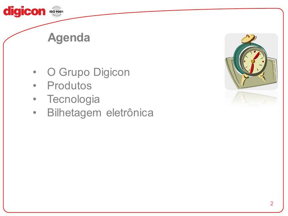 Agenda O Grupo Digicon Produtos Tecnologia Bilhetagem eletrônica