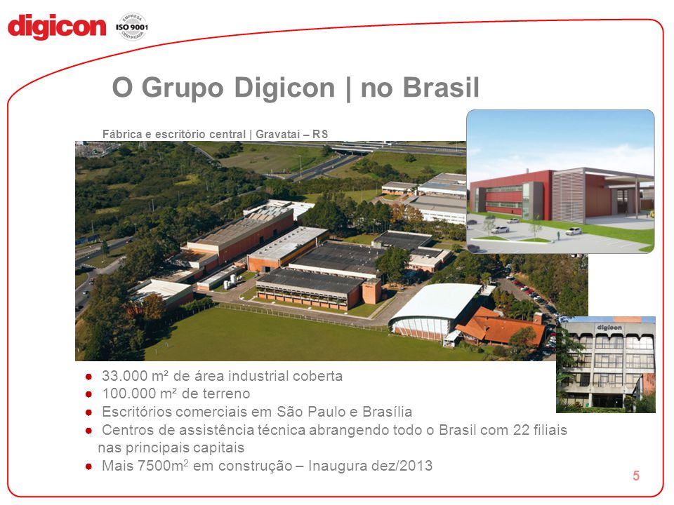 O Grupo Digicon | no Brasil