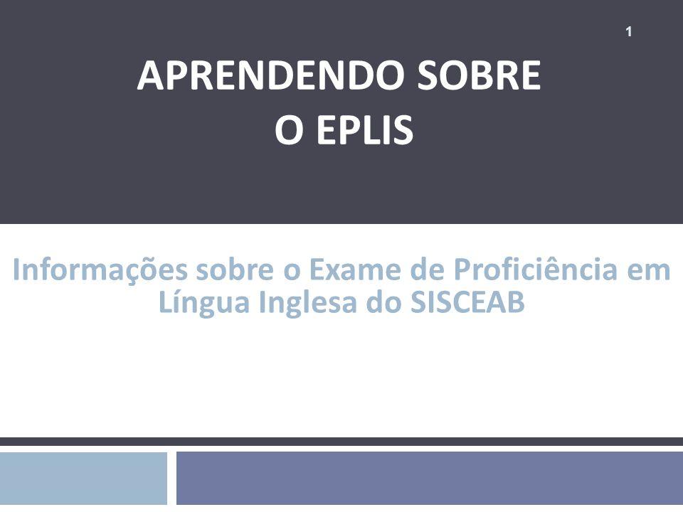 Aprendendo sobre o EPLIS