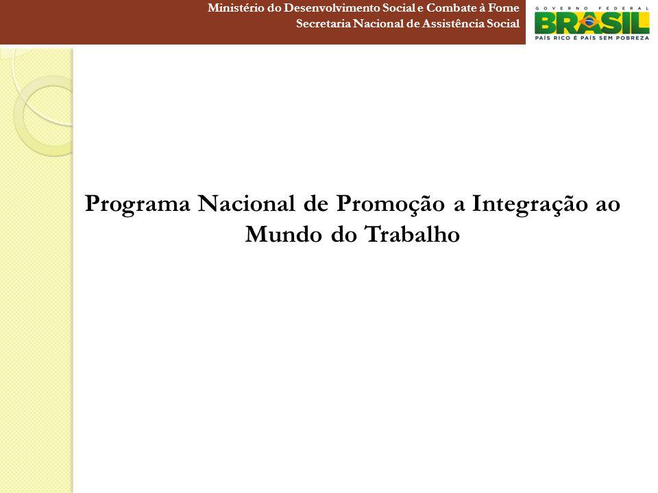 Programa Nacional de Promoção a Integração ao Mundo do Trabalho