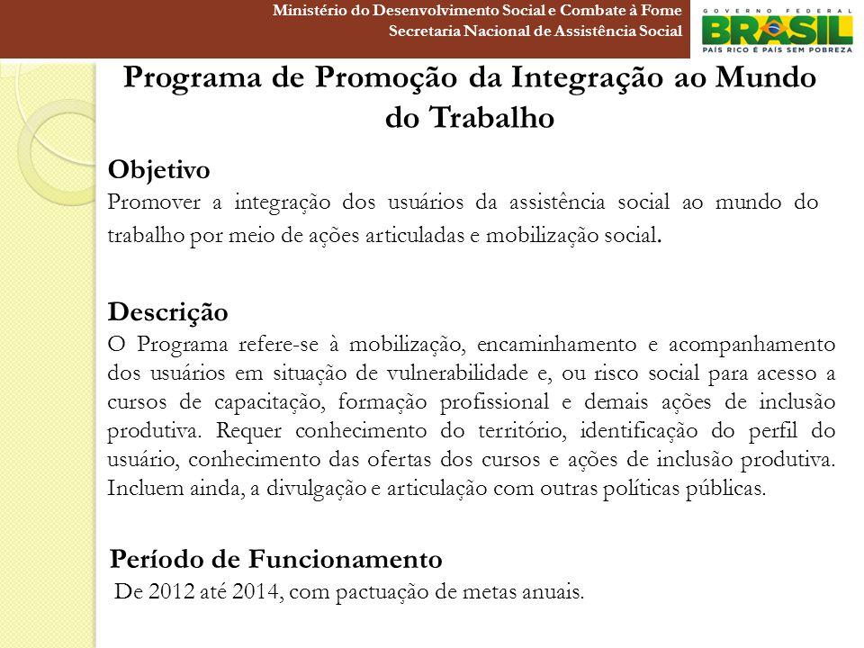 Programa de Promoção da Integração ao Mundo do Trabalho