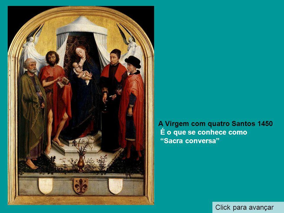 A Virgem com quatro Santos 1450