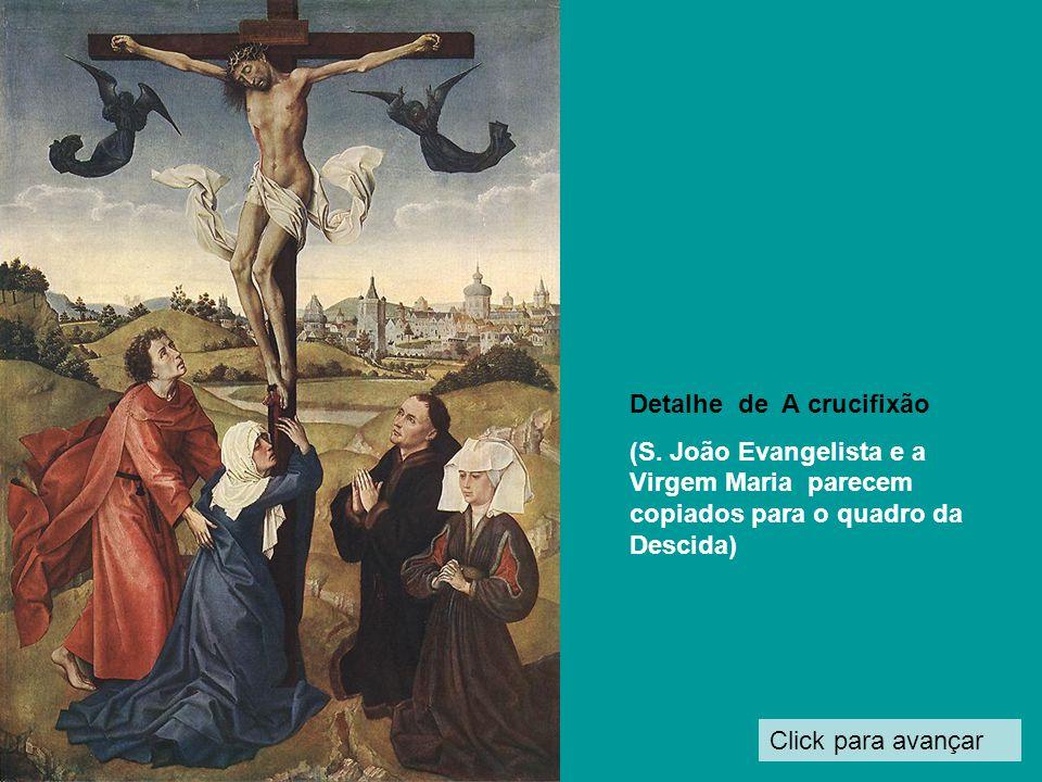 Detalhe de A crucifixão